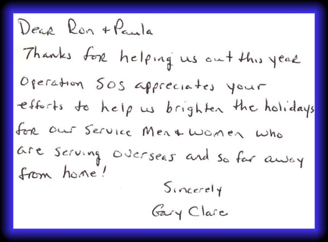 Professionals auto body community feedback a thank you letter for our participation in operation sos expocarfo